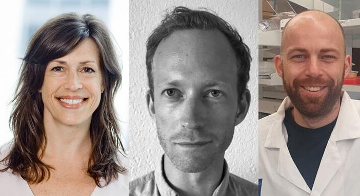 Janine Erler, Jan Strøbech & Sebastian Rune Nielsen